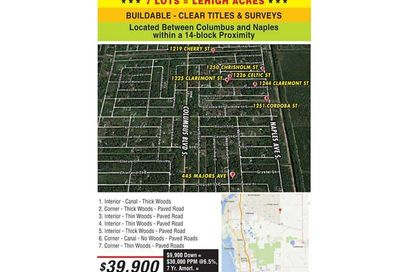1219  CHERRY ST-LEHIGH AC Other City - In The State Of Florida FL 33936