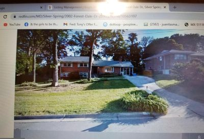 2002 Forest Dale Drive Silver Spring MD 20903