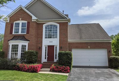 322 Tannery Drive Gaithersburg MD 20878
