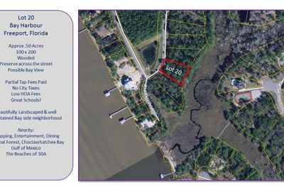 Lot 20 Bay Harbour Boulevard Freeport FL 32439