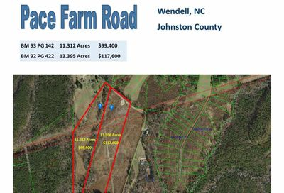 13.395 Acres Pace Farm Road Wendell NC 27591