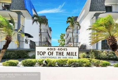 4013 N Ocean Dr Lauderdale By The Sea FL 33308