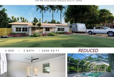 649 NW 42nd St Oakland Park FL 33309