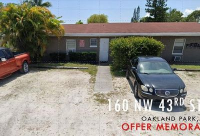 160 NW 43rd St Oakland Park FL 33309