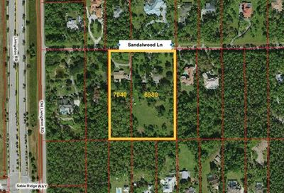6980 & 7040 Sandalwood Ln Naples FL 34109