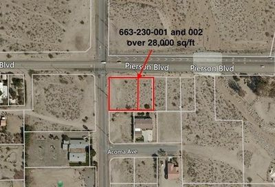 2 Lots Pierson And Little Morong Desert Hot Springs CA 92240
