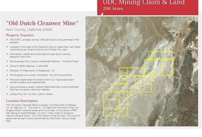 Old Dutch Mine Unit Unincorporated CA
