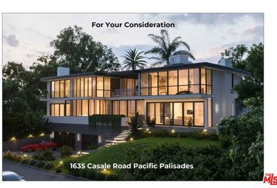 1635 Casale Road Pacific Palisades CA 90272