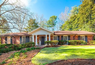 4614 Meadow Valley Drive Sandy Springs GA 30342