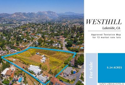 9212 Westhill Rd. Lakeside CA 92040