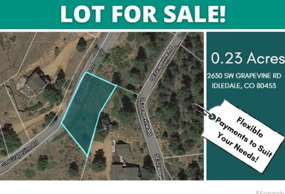 2630 SW Grapevine Road Idledale CO 80453