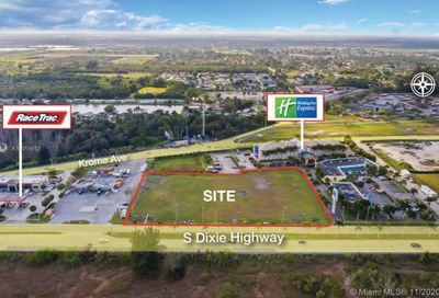 Miami Land & Development Cos Sub In Sec 30 Florida City FL 33034