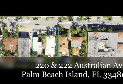 220 & 222 Australian Avenue Palm Beach FL 33480
