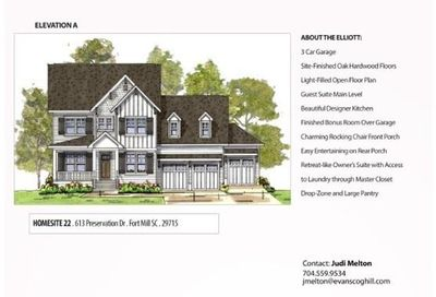 613 Preservation Drive Fort Mill SC 29715