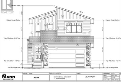 109 Athabasca Crescent Fort McMurray AB T9J1C2