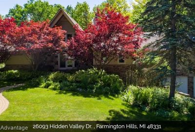 26093 Hidden Valley Drive Farmington Hills MI 48331