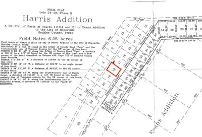1 Lot 18 Timmons Ropesville TX 79358