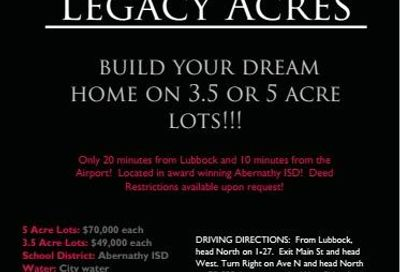 Lot 6 County Road 325 Abernathy TX 79311