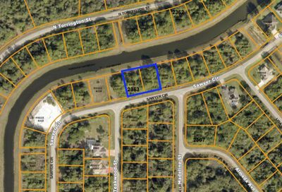 (Double/Canal Lot) Sawyer Circle North Port FL 34288